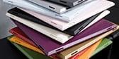 Design Regalplatten in 16 Farben erhältlich