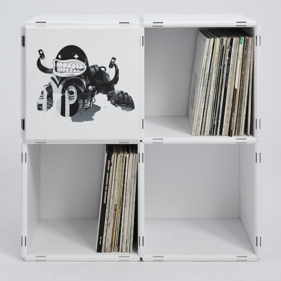 Designe selbst deine Bücherregale mit deinen eigenen Bildern