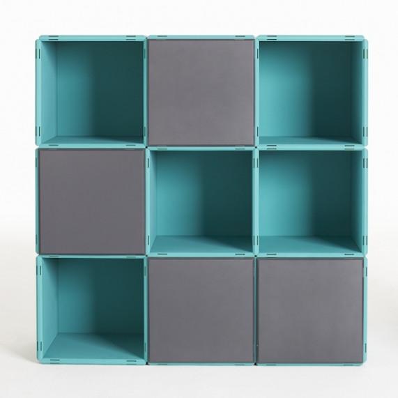 Aktenregal modular und belastbar  im qubing online Shop entdecken
