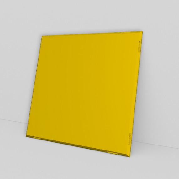 qubing Panels in gelb können mit allen Farben kombiniert werden, so entsteht ein buntes Regal.