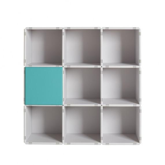 3x3 Regale von qubing mit Rückwänden und Türen