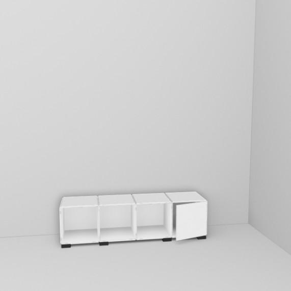 Sideboards finden ihren Platz im Flur, im Wohnzimmer, als TV Regal, für Bücher und vieles mehr. Das qubing Design ist einzigartig und das sideboard kann jederzeit erweitert werden.