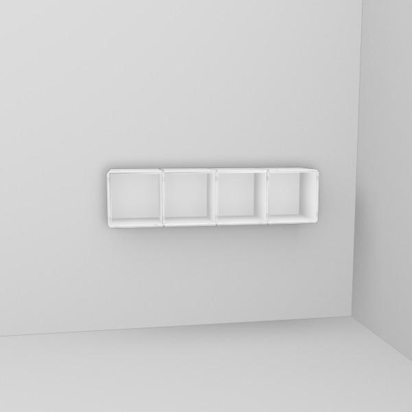 wandregal weiss i. Black Bedroom Furniture Sets. Home Design Ideas
