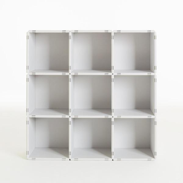w rfelregal wei. Black Bedroom Furniture Sets. Home Design Ideas