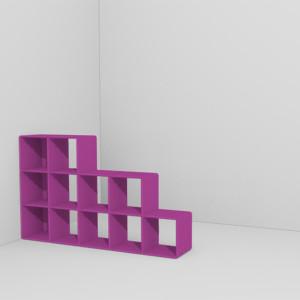 qubing Raumteiler können individuell geplant werden im online Konfigurator