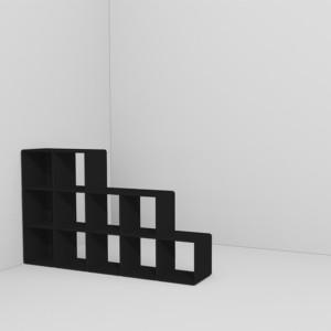 q33 Raumteiler matt black