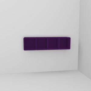 q17 Wandregal deep purple