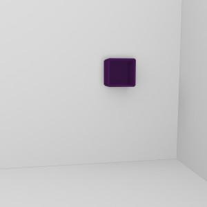 q5 Wandregal deep purple
