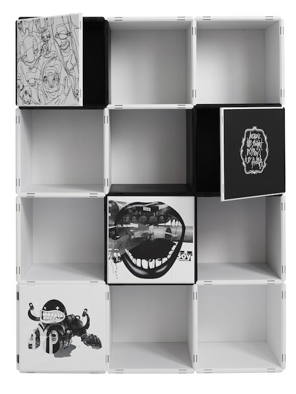 Bücherregale modernes Design