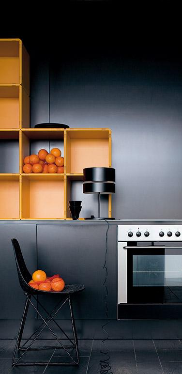 qubing Regale als Kücheneinrichtung