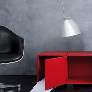 Sideboard rot für Ihr Büro oder Arbeitszimmer