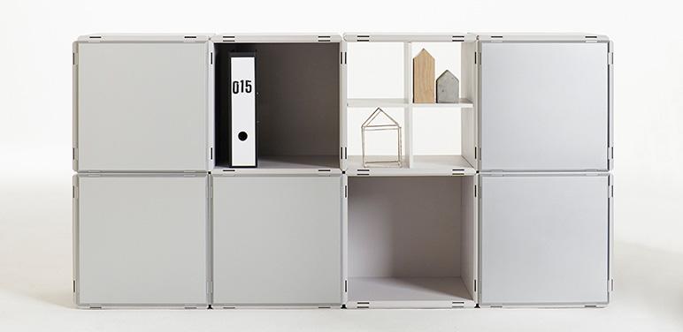 design regal in 16 farben. Black Bedroom Furniture Sets. Home Design Ideas