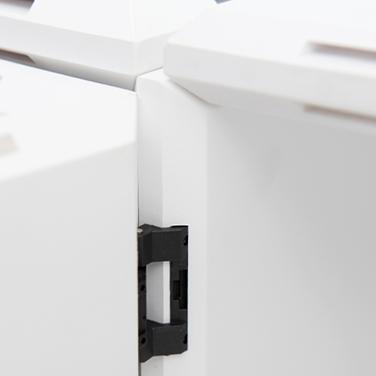 hochwertige Türscharniere für Design Würfelregal