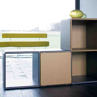 Room divider, partition for living spaces
