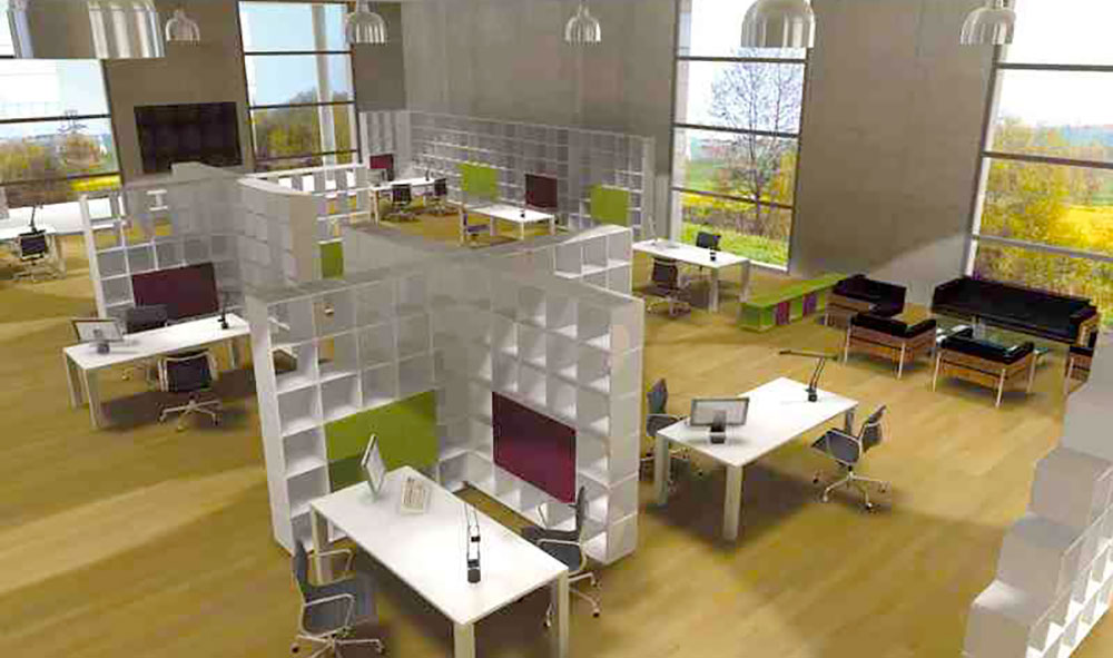 Office Shelving System As Room Dividers To Shelf F Office Shelf Dividers