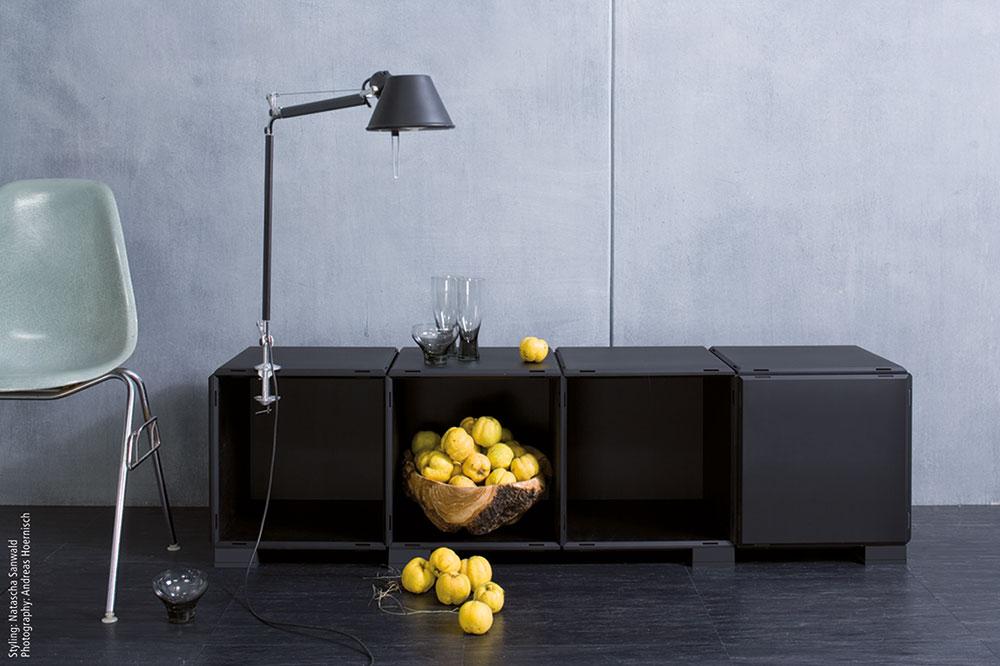 Design Schwarz. Trendy Line Wardrobe Element Schnbuch With Design ...