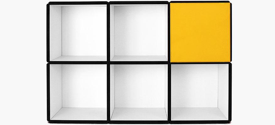 mdf regale modular und flexibel. Black Bedroom Furniture Sets. Home Design Ideas
