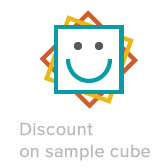 sample shelf cube