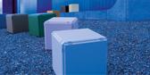 Musterpaket mit 5 Regalplatten