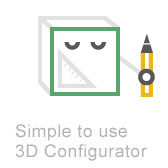3D Configurator for shelving systems