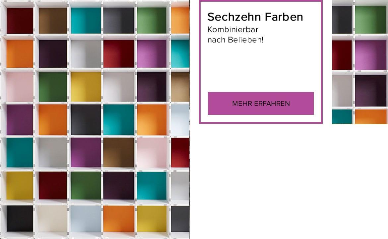 Sechzehn Farben