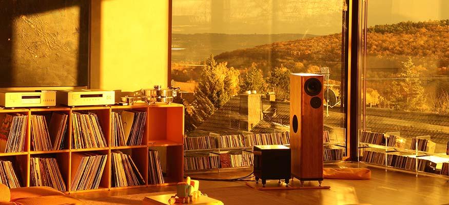 Schallplatten Regal und LP Regale
