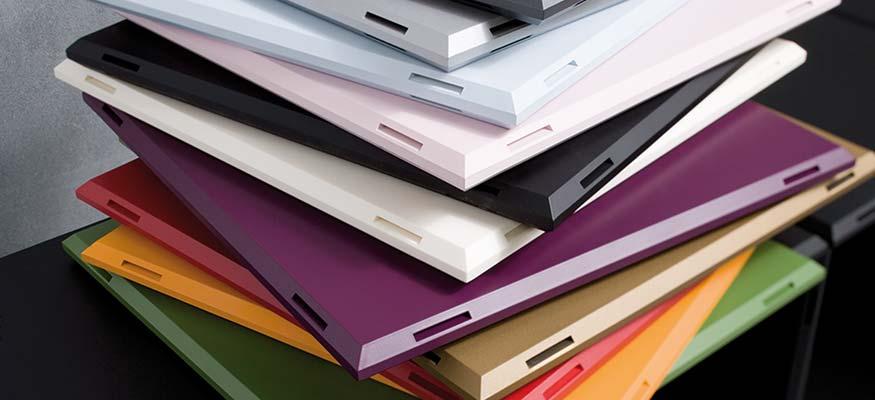 Design Regalplatten qubing in 16 Farben erhältlich