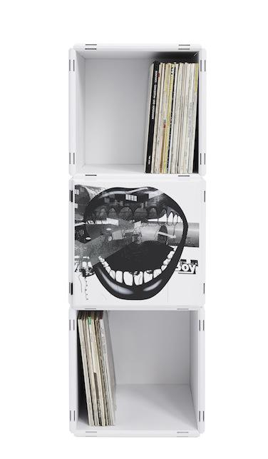 LP und Schallplatten Regal