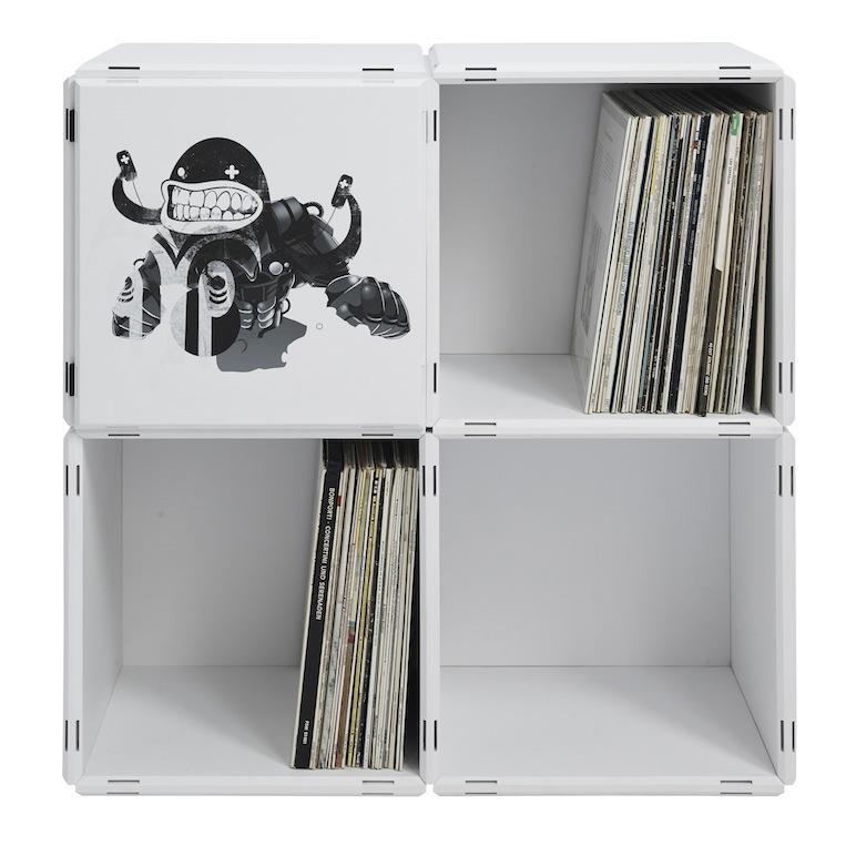 Schallplatten Regale