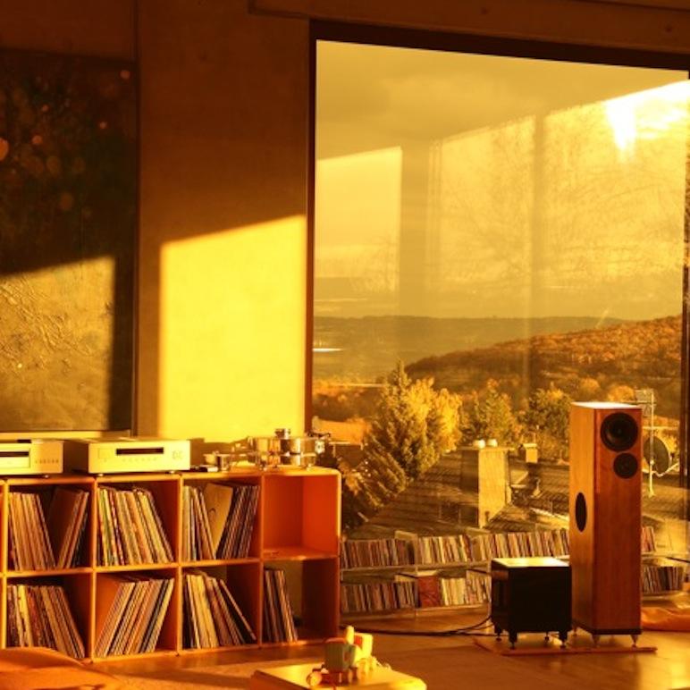 Hifi Möbel für Plattenladen